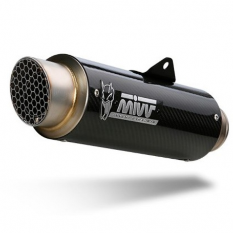 Escape Ducati Monster 1200 17- Mivv GP Pro Slip-On Carbono