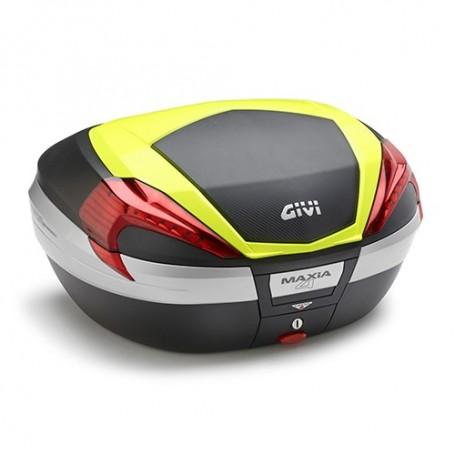 Maleta Trasera Givi V56 Maxia Tech con sobretapa Fluor Monokey