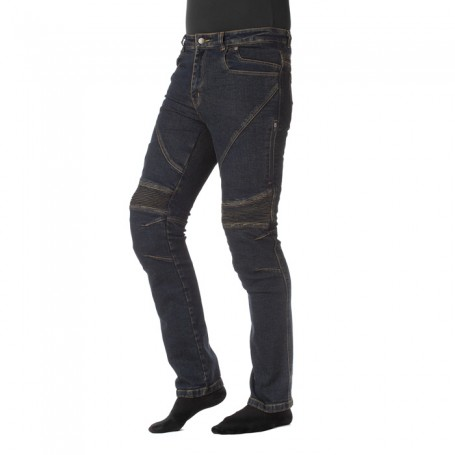 Pantalon Rainers Durango Refuerzos Kevlar Azul Oscuro
