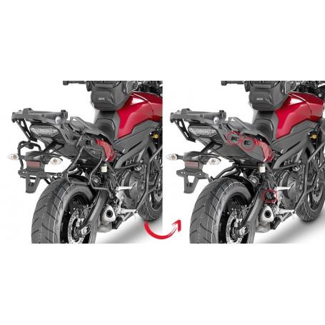Soporte Givi maleta lateral V35 Yamaha MT09 Tracer 2015 Monokey
