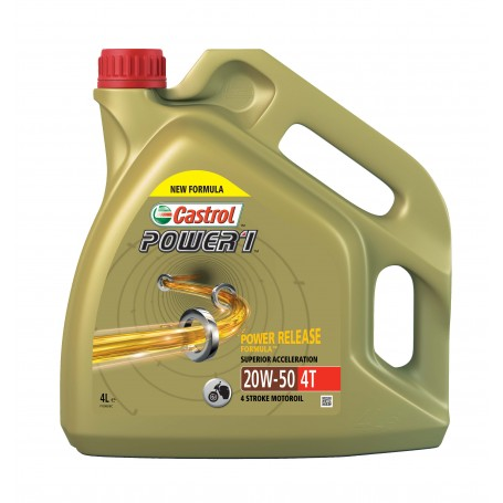 ACEITE CASTROL 20W50 POWER 1 4T 4Lts.