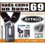 Candado antirrobo Artago 69 Duo + cadena ø14