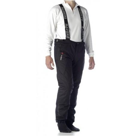 Pantalón Rainers Oxford Negro con forro térmico y tirantes extraibles