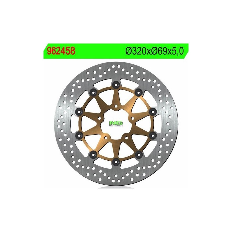 Disco de Freno NG Brake 962458 320 x 69 x 5 Suzuki