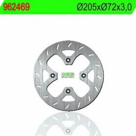 Disco de Freno NG Brake 962469 205 x 72 x 3 HM Italy