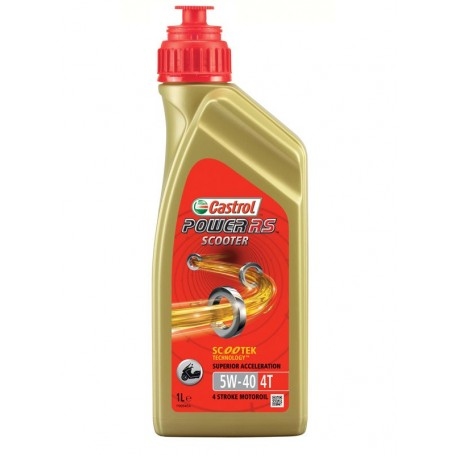 ACEITE CASTROL 5W40 ACTEVO SCOOTER SINTETICO 4T 1LTS.