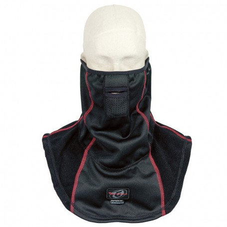 Cubrecuello ADVANCED con membrana Sympatex Windmaster GARIBALDI Negro Invierno