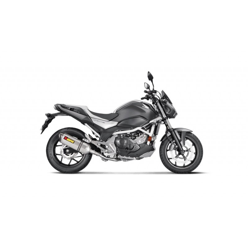 Escape Honda NC750S 2016- Akrapovic Titanio Slip On Line