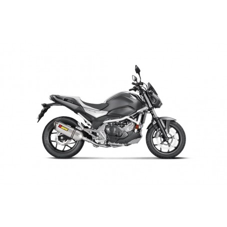 Escape Honda NC750S 2016- Akrapovic Titanio Slip On Line