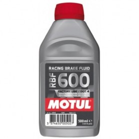 Liquido de Frenos Moto Motul Racing Brake 600 Sintetico 500ml