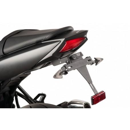 Portamatricula Suzuki SV650 2016- Puig Negro
