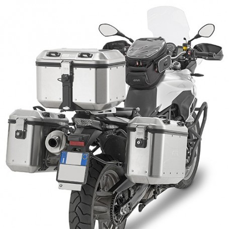 Maletas Givi Trekker Dolomiti DLM46 46Lts Monokey Aluminio