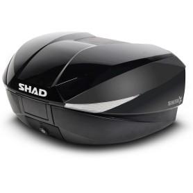 Sobretapa Shad Maleta SH58X Negro Metalizado