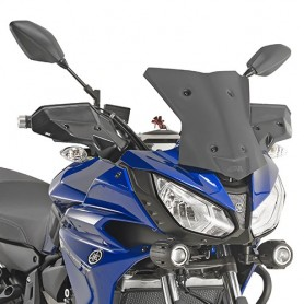 Cúpula Yamaha MT-07 Tracer 2016- Givi baja deportiva negra mate