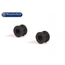 Vástago (set) de aluminio para caballete trasero Wunderlich 36690-102
