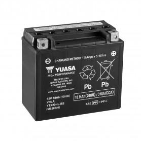 Bateria Moto YTX20HL-BS Yuasa Hermetica sin Mantenimiento