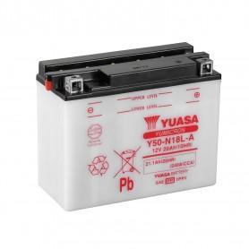 Batería Moto Y50-N18L-A Yuasa con Mantenimiento