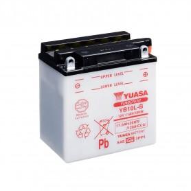 Batería Moto YB10L-B Yuasa con Mantenimiento