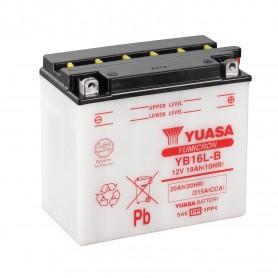 Batería Moto YB16L-B Yuasa con Mantenimiento