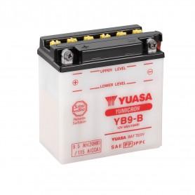 Batería Moto YB9-B Yuasa con Mantenimiento