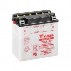 Batería Moto YB9L-A2 Yuasa con Mantenimiento