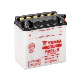 Batería Moto YB9L-B Yuasa con Mantenimiento