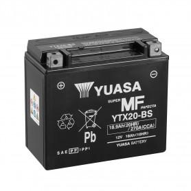 Batería Moto YTX20-BS Yuasa Hermética sin Mantenimiento