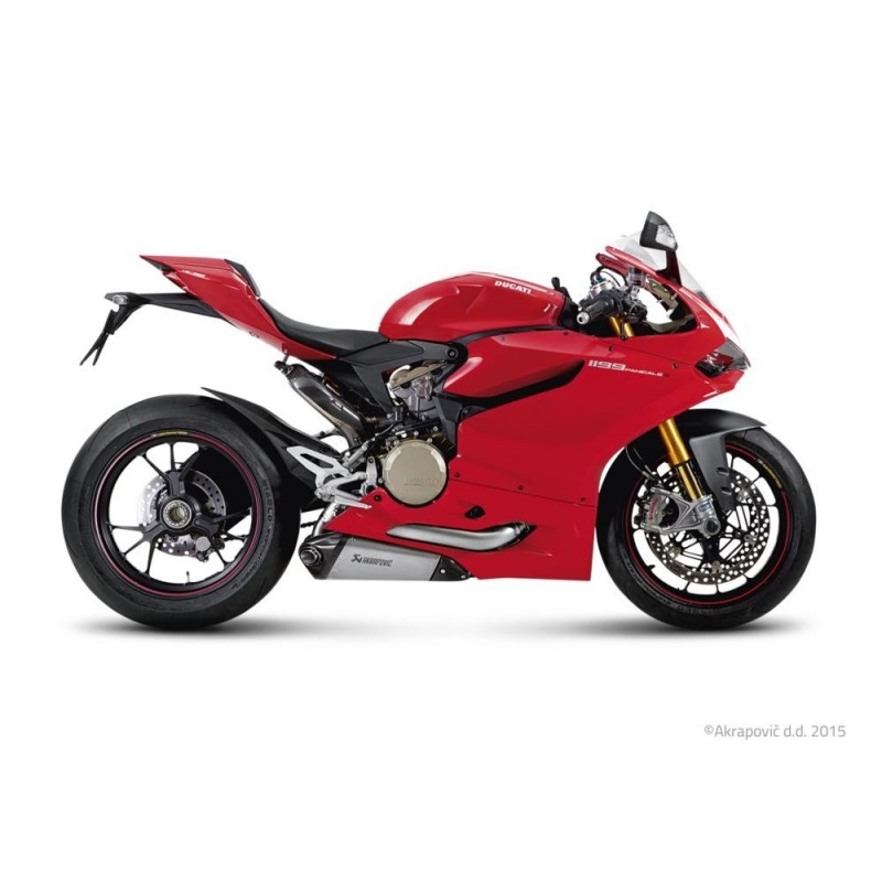 Silencioso Akrapovic Ducati 1199 Panigale S 12-14 Titanio Evolution Line