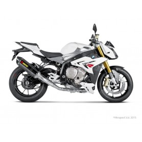Sistema de Escape Akrapovic BMW S 1000 R 14-16 Carbono Acero inoxidable Racing Line