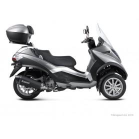 Escape Akrapovic Piaggio MP3 400 RST 08-13 Acero inoxidable Negro Slip-on Line