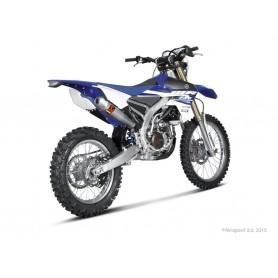 Escape Akrapovic Yamaha WR250F 15 Acero inoxidable/Titanio Slip-on Line