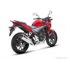 Silencioso Akrapovic Honda CB 400/500F 13-15 Acero inoxidable Slip-on Line