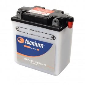 Bateria Moto 6N6-3B-1 TECNIUM con mantenimiento