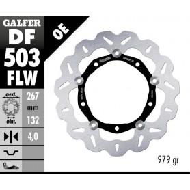 Disco Freno Galfer Wave DF503FLW Flotante Nucleo Acero Delantero OE