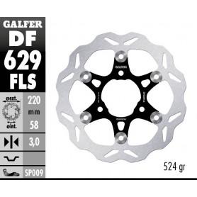 Disco Freno Galfer Wave DF629FLS Flotante Sobremedida Núcleo Acero Delantero