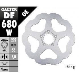 Disco Freno Galfer Wave DF680W Fijo Delantero OE