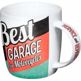 Taza vintage NOSTALGIC-ART best garage