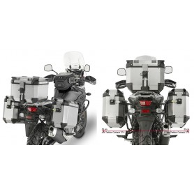 Sistema de Maletas Laterales Suzuki V-Strom 650/650XT 2017- Givi Outback