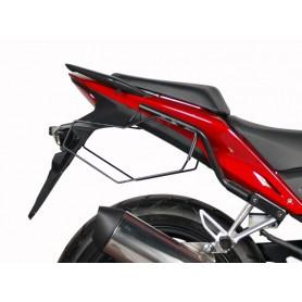 Sistema completo soportes + alforjas Shad E-48 Honda CB500F 13-14 / CBR500R 13-