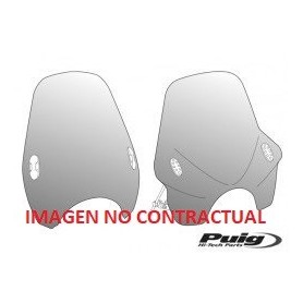 Cupula Touring Gtr1400/Concours14 17' Negro Puig 7628N