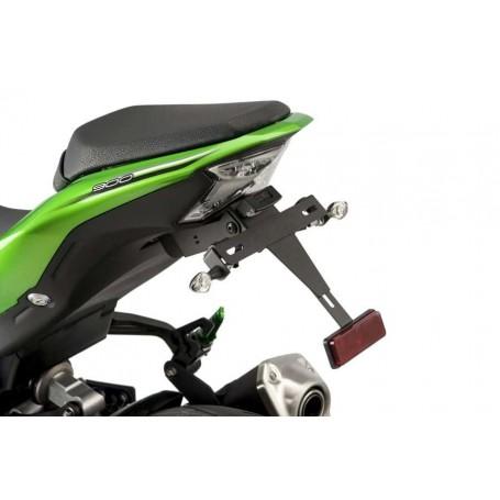 Portamatrículas Completo Kawasaki Z900 17 Negro Puig 9388N