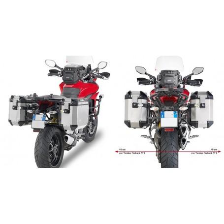 Soporte Maletas Laterales Ducati Multistrada 950 2017- Givi Monokey Trekker Outback