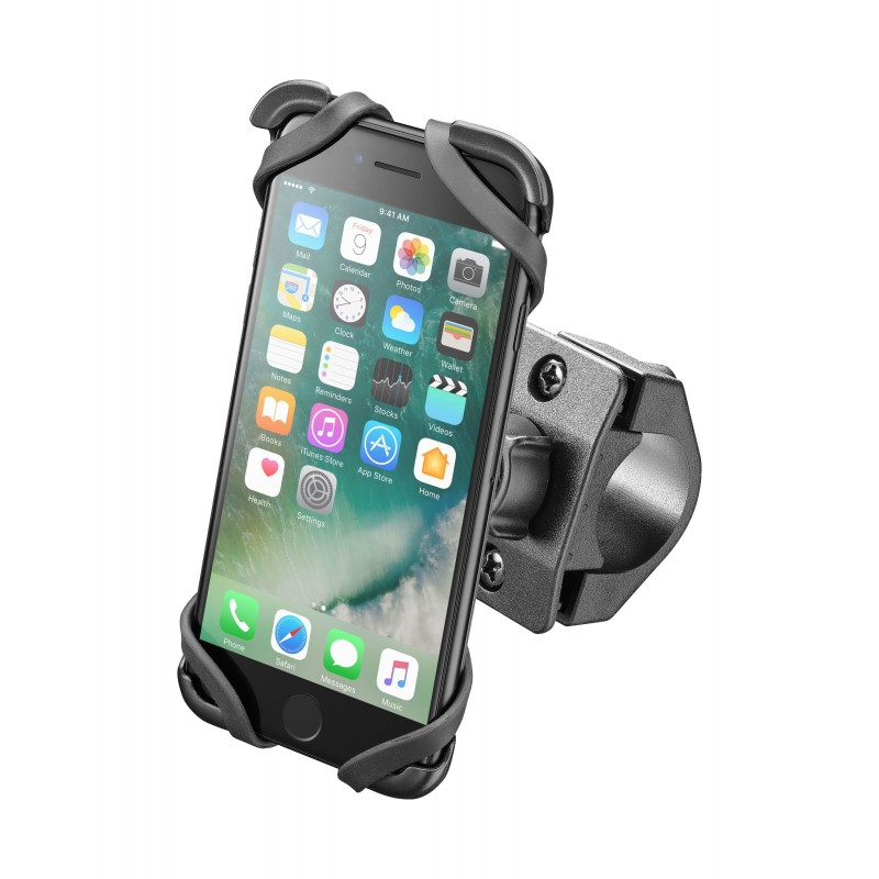 Soporte smartphone iphone 7 interphone moto cradle for Porte telephone moto