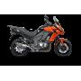 Escape Kawasaki Versys 1000 2017- Akrapovic Titanio Slip On Line