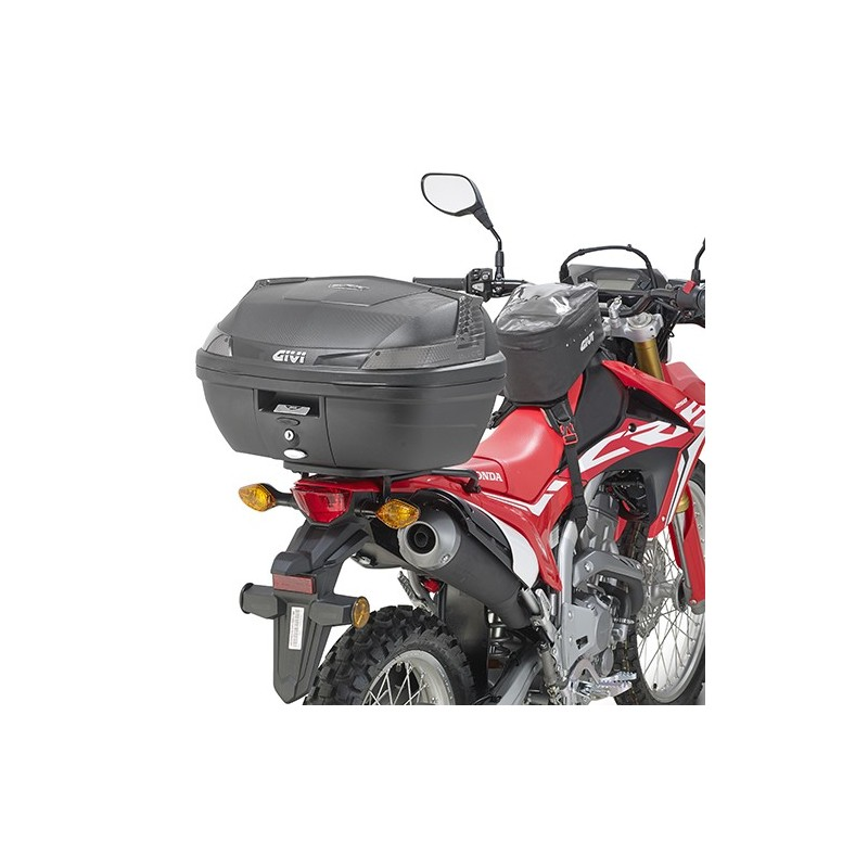 soporte maleta trasera honda crf 250 l 2017 givi. Black Bedroom Furniture Sets. Home Design Ideas