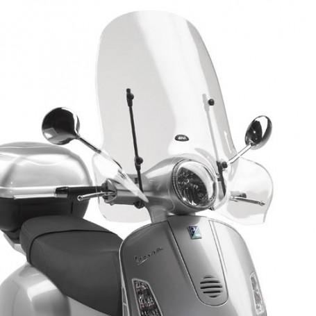 Cúpula Vespa GTS 125-250-300 2006- Transparente 51,5x69,5cms Givi