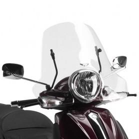 Cúpula Piaggio Beverly Tourer 125-250-300-400 08-10 Transparente 32x61,5cms Givi