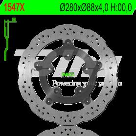 Disco de Freno Trasero KYMCO Xciting 400i 2013- NG Brake Ondulado