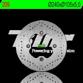 Disco de Freno Trasero Honda SH 125i-150i ABS 2017- NG Brake