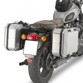 Soporte Maletas Laterales Triumph Bonneville T100 17- Givi Monokey